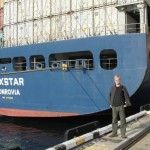 Buxstar, docked in Fremantle (Perth).